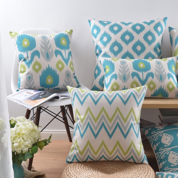 Modne poduszki scandi styl minimalistyczny