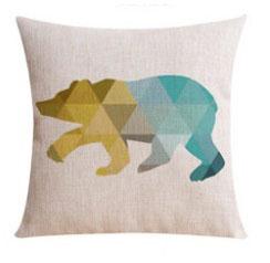 poduszka poduszki dekoracyjne ozdobne loftowy minimalizm skandi hipsteri