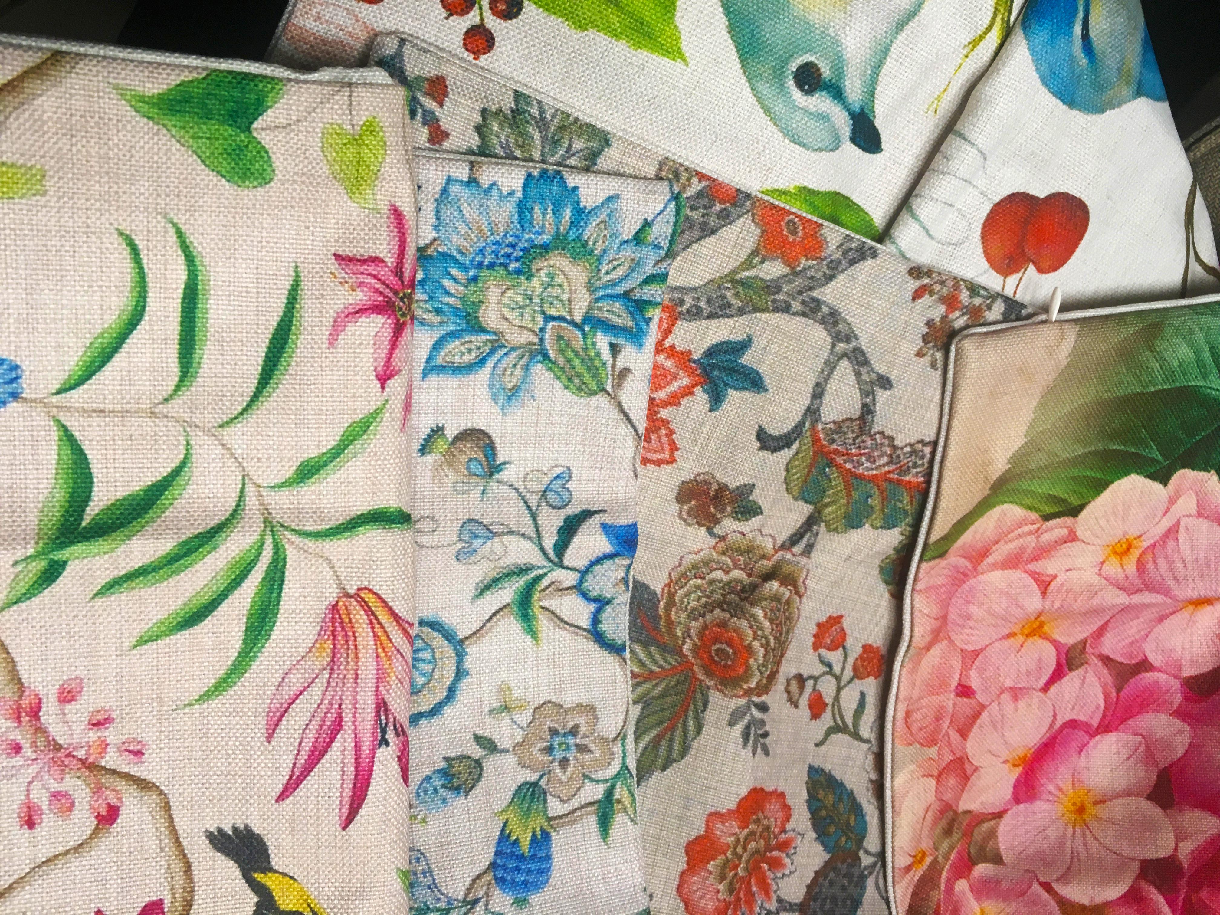 Poduszki retro, styl angielski, klasyczne