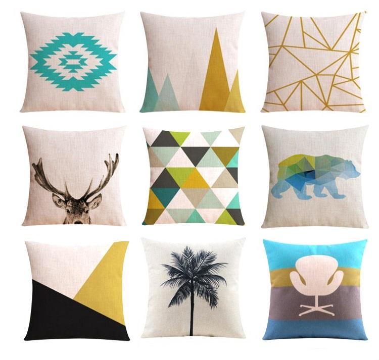 """<img src=""""poduszki_modne_trendy_designerskie.jpg"""" alt=""""poduszki dekoracyjne jeleń nowoczesne skandynawskie loft geometryczne""""/>"""