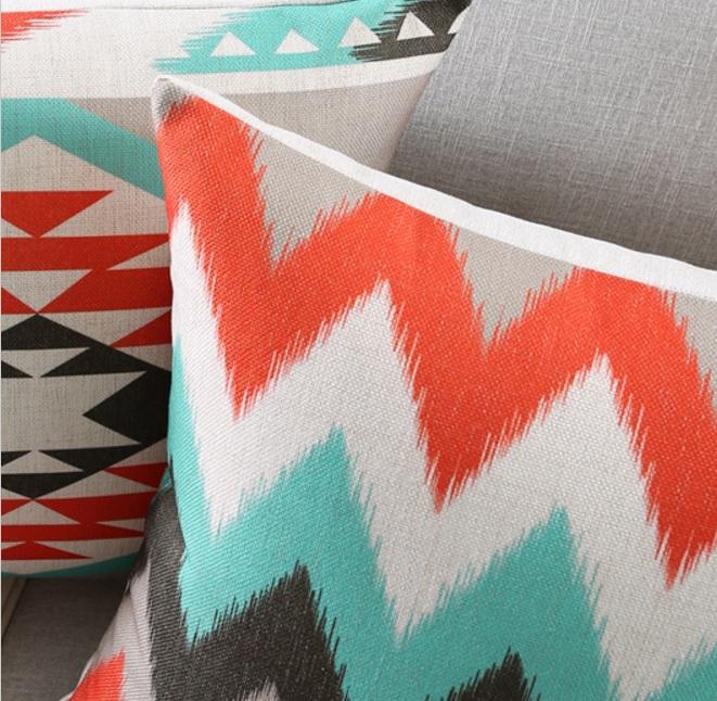 poduszka-dekoracyjna-allegro-modne-poduszki-wzor-etno-czerwony-skandynawski