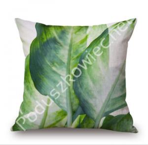 Poduszka liście - jungle zielona
